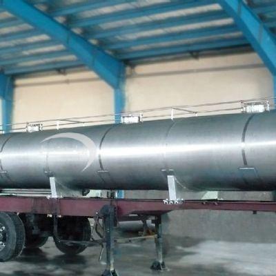 تانکر حمل دوجداره 24000 لیتری استیل
