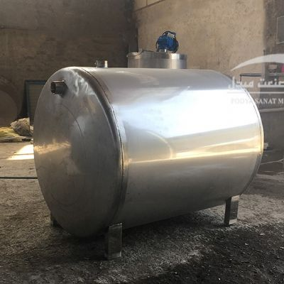 500-liter single-layer steel tank