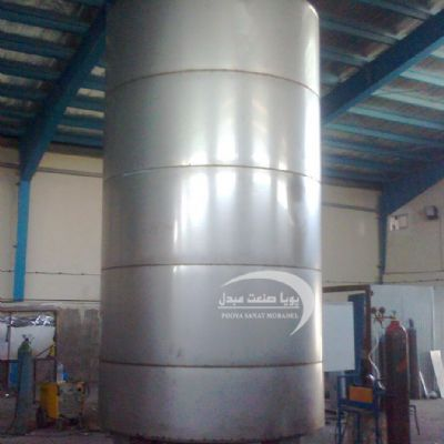 Single-layer, 20,000-liter steel tank