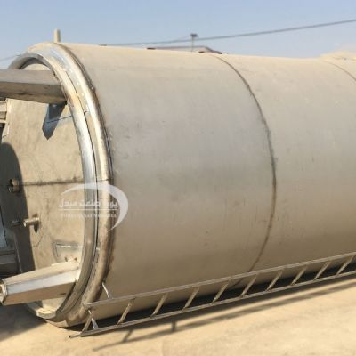 25,000-liter single-layer steel tank