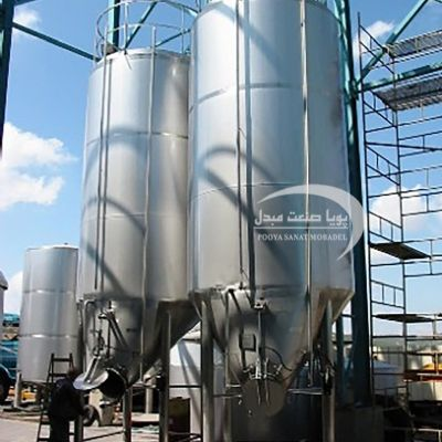 40,000-liter single-layer steel tank