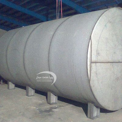 50000-liter single-layer steel tank