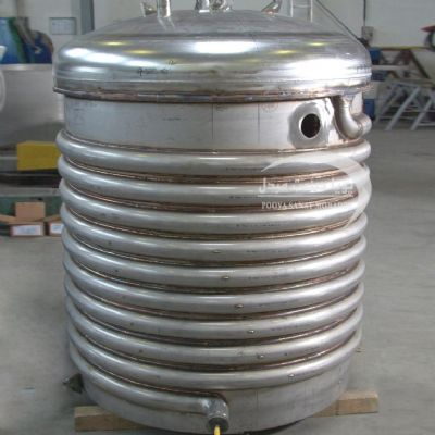 500-liter single-layer steel reactor