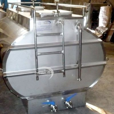 1500 liter double-layer steel transfer tank