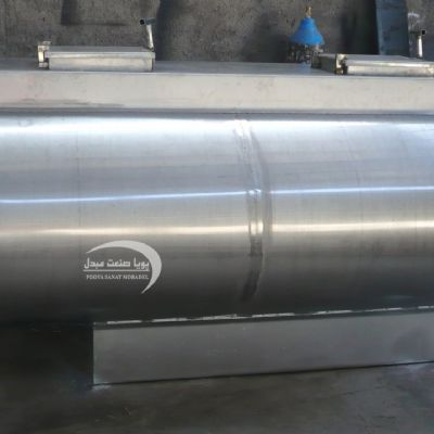 Two-layer steel transfer tank of 2000 liters