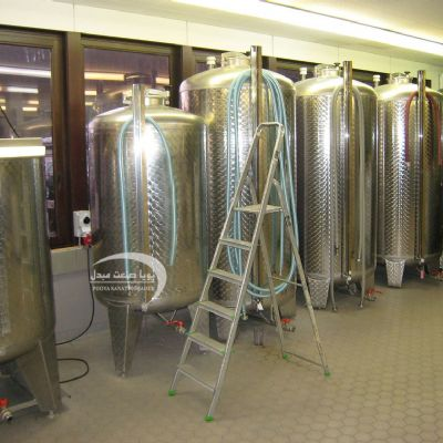 1000 liter stainless steel  fermenter