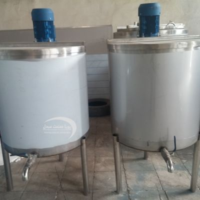 Mixer 250 liter cream
