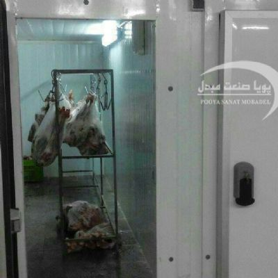 Refrigerated meat frozen 1500 tons
